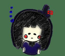doodle Gothic&Lolita sticker #1289775
