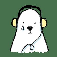 Jeemo the polar bear sticker #1290061