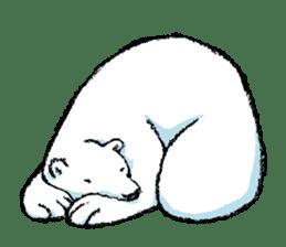 Jeemo the polar bear sticker #1290062