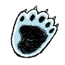 Jeemo the polar bear sticker #1290073