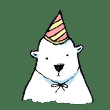 Jeemo the polar bear sticker #1290086
