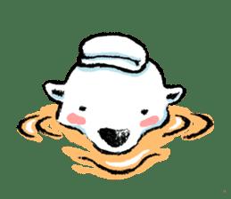 Jeemo the polar bear sticker #1290088
