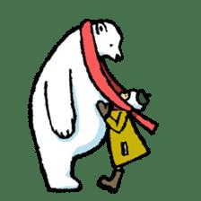 Jeemo the polar bear sticker #1290090