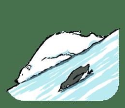 Jeemo the polar bear sticker #1290094