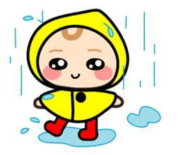 Baby chan (English) sticker #1290886