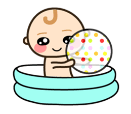 Baby chan (English) sticker #1290888