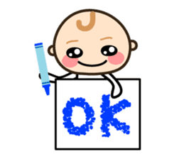 Baby chan (English) sticker #1290890