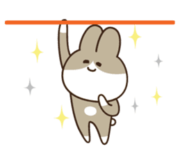 Acrobatic Rabbits Part.1 sticker #1292086