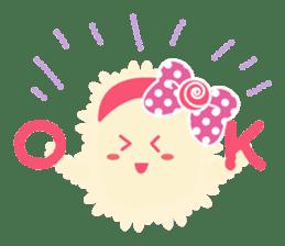 Sweet fantastic monster sticker #1292182