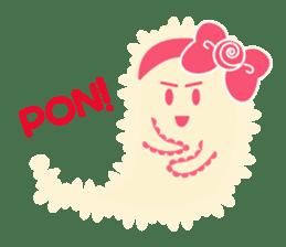 Sweet fantastic monster sticker #1292184