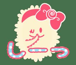 Sweet fantastic monster sticker #1292186