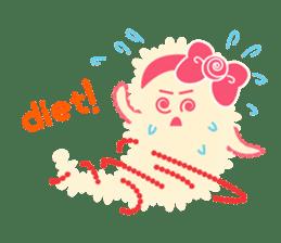 Sweet fantastic monster sticker #1292203