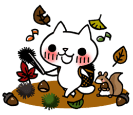 The White Kitten Kitty event version sticker #1292434