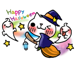 The White Kitten Kitty event version sticker #1292439