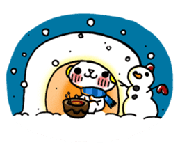 The White Kitten Kitty event version sticker #1292443