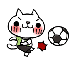 The White Kitten Kitty event version sticker #1292456