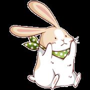 สติ๊กเกอร์ไลน์ Fattu Rabbit
