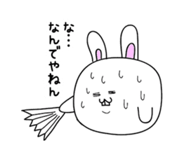 Osaka rabbit part2 sticker #1293781