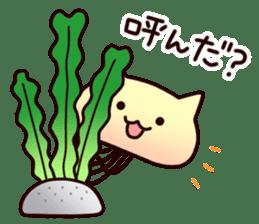 Cat jellyfish & Rabbit jellyfish sticker #1293858
