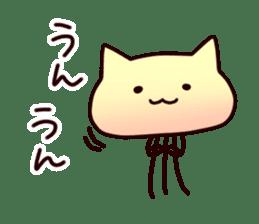 Cat jellyfish & Rabbit jellyfish sticker #1293860