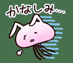 Cat jellyfish & Rabbit jellyfish sticker #1293868
