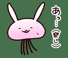 Cat jellyfish & Rabbit jellyfish sticker #1293872