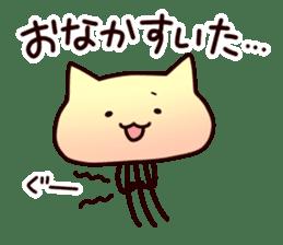 Cat jellyfish & Rabbit jellyfish sticker #1293886