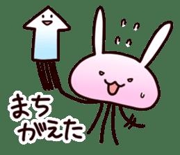 Cat jellyfish & Rabbit jellyfish sticker #1293891