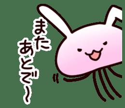 Cat jellyfish & Rabbit jellyfish sticker #1293896