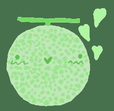 vegetables & fruit sticker #1294748