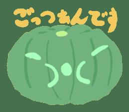 vegetables & fruit sticker #1294762