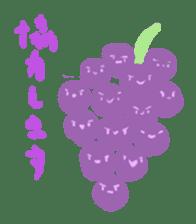 vegetables & fruit sticker #1294767
