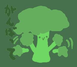 vegetables & fruit sticker #1294774