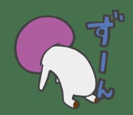 funny mushroom sticker #1295305
