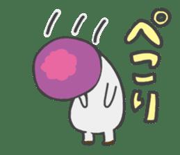 funny mushroom sticker #1295311