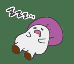 funny mushroom sticker #1295315
