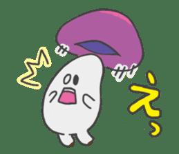 funny mushroom sticker #1295321
