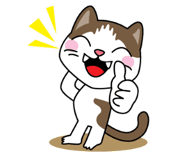 """Mr.meow"" sticker #1297139"