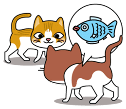 """Mr.meow"" sticker #1297147"