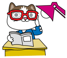 """Mr.meow"" sticker #1297155"