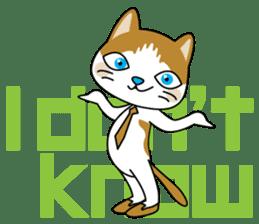 """Mr.meow"" sticker #1297162"