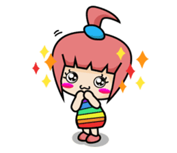 Sandy Lovely Girl sticker #1298819