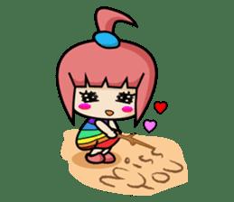 Sandy Lovely Girl sticker #1298849