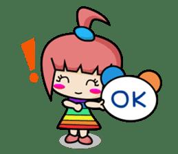 Sandy Lovely Girl sticker #1298852