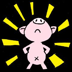 Little piggy Tony