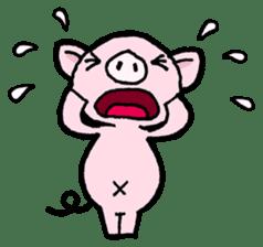 Little piggy Tony sticker #1303030