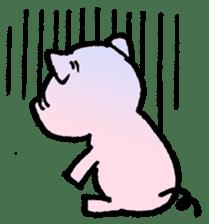 Little piggy Tony sticker #1303034