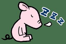Little piggy Tony sticker #1303040
