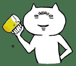 crazy crazy cat sticker #1303235