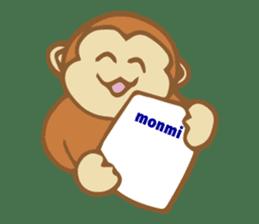 Dialect Sticker TOCHIGI with Monkey sticker #1304809